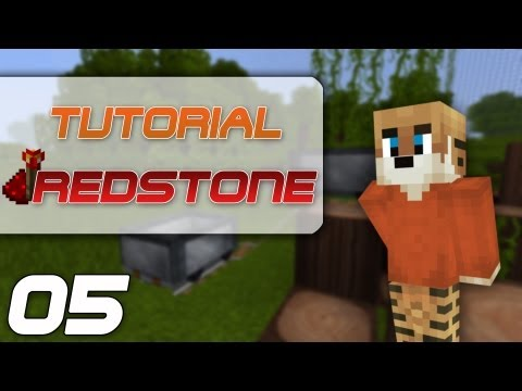 Minecraft Tutorial #05 [Deutsch] - Minecart Pusher