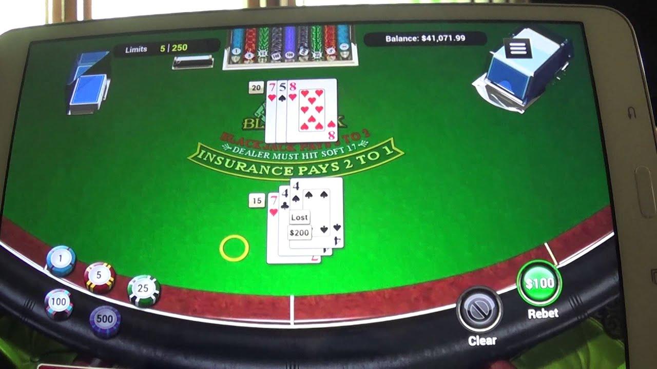 Online Mobile Blackjack