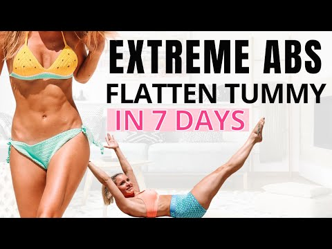 EXTREME ABS Best Exercises For Flat Tummy