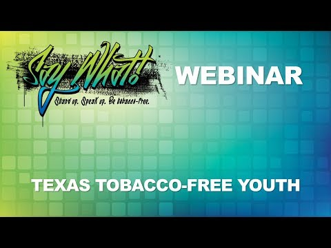 How to Involve Youth in Tobacco Prevention