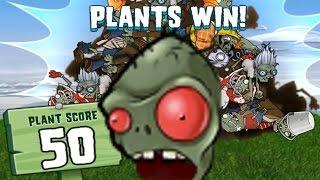 видео про цветки против зомби