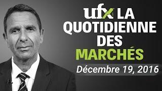 UFX Forex Analyse de Marchés décembre -19-2016