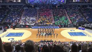 eastview dance team state kick finals 2017