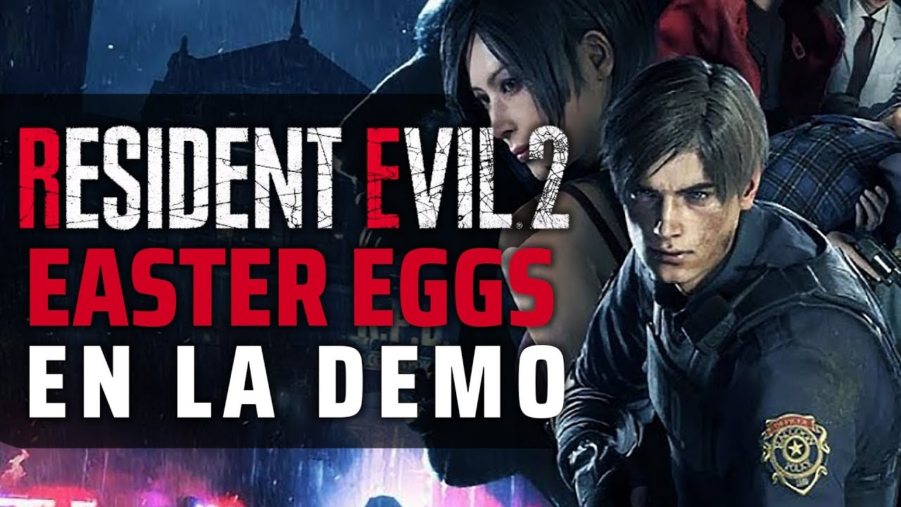 RESIDENT EVIL 2 REMAKE DEMO   Las mejores Referencias, Easter Eggs,  Curiosidades y Secretos