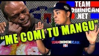 Me Comi Tu Mangu #TeamDominican