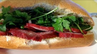 How To Make Banh Mi Thit Nuong-vietnamese Pork Sandwich-vietnamese Food Recipes