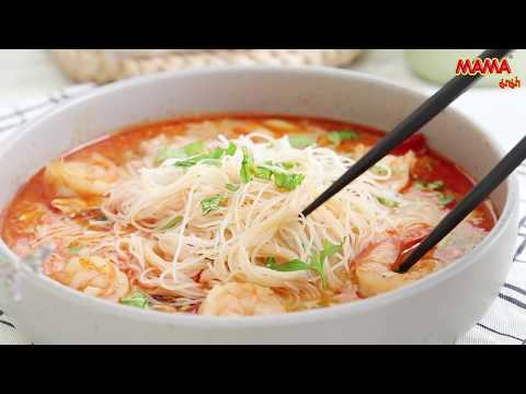 MAMA – Thai Coconut Curry Shrimp Noodles
