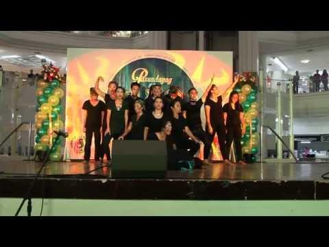 Filipino is Resilient- AB LingLit (Seniors) students- Champion