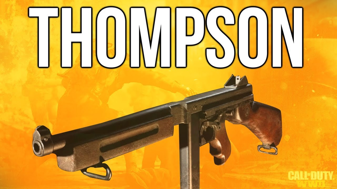 WW2 In Depth: M1928 Thompson SMG Review (Call of Duty: WWII)