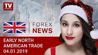 InstaForex tv news: 04.01.2019: USD finds no support from robust NFPs