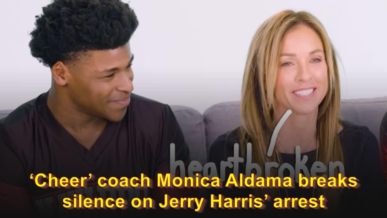 'Cheer' coach Monica Aldama breaks her silence over Jerry Harris ...