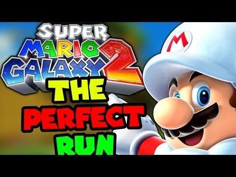 Super Mario Galaxy 2 the perfect run full rage 6,000 views special