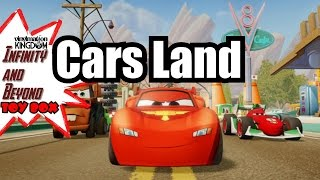 Disney Infinity 2.0 Cars Land Toy Box
