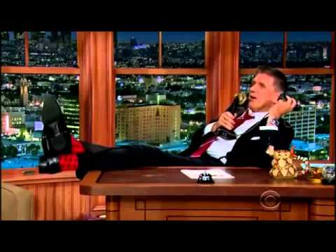 Carrot Top & Gwendoline Christie interview on Craig Ferguson September 2, 2014