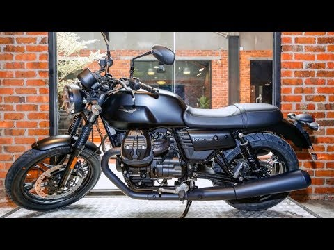 2017 moto guzzi v7 iii stone harley davidson softail youtube. Black Bedroom Furniture Sets. Home Design Ideas