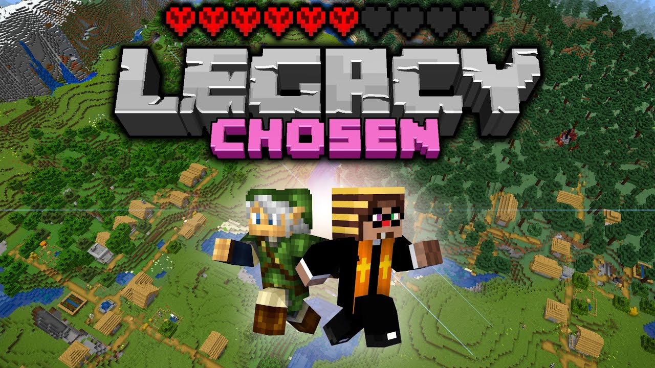 SO MANY VILLAGES! Legacy Chosen Challenge - Day 5 [Minecraft 1.16 Multiplayer]