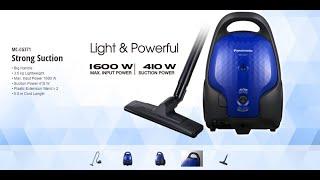 Unboxing Panasonic MC-CG371 Vacuum Cleaner - Review