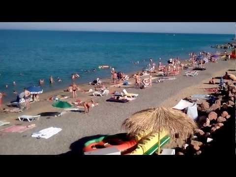 18 июля 2016 г.  Крым Николаевка ..Утро ... центральный пляж ..