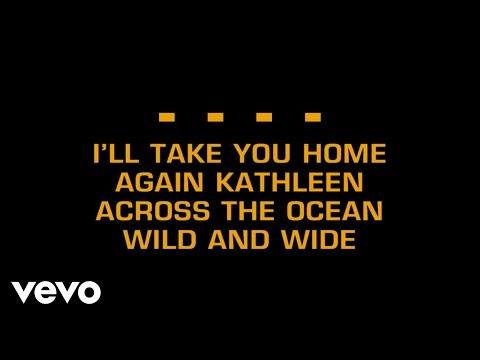 Traditional Irish Song - I'll Take You Home Again Kathleen (Karaoke)