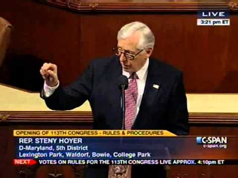 Hoyer Floor Remarks on Republican Rules Package