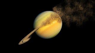 De ce Saturn isi pierde inelele?