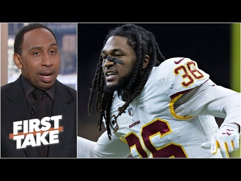 Redskins were right to let D.J. Swearinger go - Stephen A. l First Take