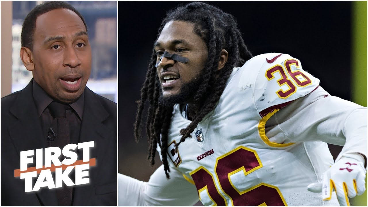 new product de664 e5847 Redskins were right to let D.J. Swearinger go - Stephen A. l First Take