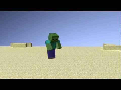 The Lonely Zombie-Minecraft Animation