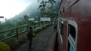 Sri Lanka,ශ්‍රී ලංකා,Ceylon,Train Station Mountain Trip