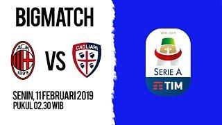 Jadwal Live Liga Italia AC Milan Vs Cagliari, Senin Pukul 02.30 WIB