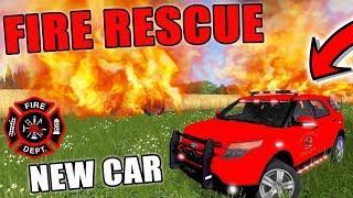 NEW RESCUE VEHICLE | FIRE RESCUE | EMERGENCY 911 | FARMING SIMULATOR 2017