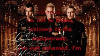 Welcome To The Masquerade - Thousand Foot Krutch (Lyrics)