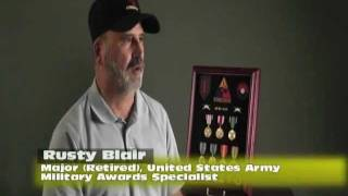 Meet Fellow Vet Rusty, One Of Medals Of America's Military Award Specialists