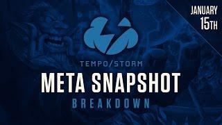 Hearthstone Meta Snapshot Breakdown: January 15th 2017