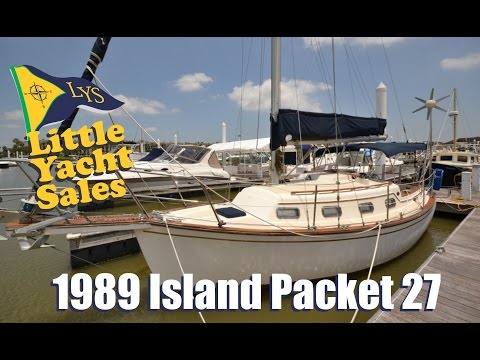 SOLD!!! 1989 Island Packet Sailboat for sale at Little Yacht Sales, Kemah Texas
