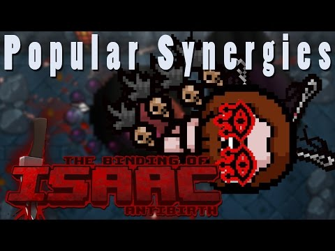 The Binding of Isaac Antibirth | Hurts So Good! | Popular Synergies!