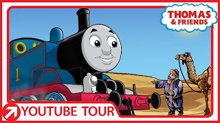 Video Thomas In the Sahara! | Thomas' Tour | Thomas & Friends download MP3, 3GP, MP4, WEBM, AVI, FLV Oktober 2018