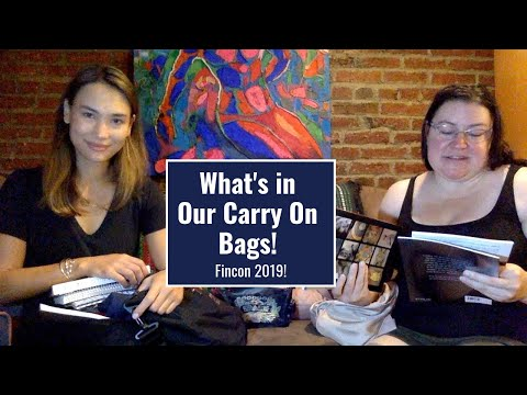 What's In Our Carry On Bags For Fincon 2019!