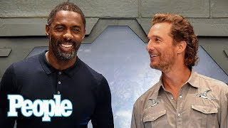 Idris Elba On His Secret Life As Pro Kick-Boxer, Training For 'The Dark Tower' | People NOW | People