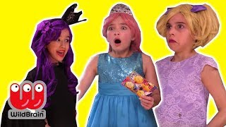 Malice's Princess Tea Party PRANK 🍵 Magic & More - Princesses In Real Life | WildBrain Kiddyzuzaa