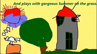 Pictures painting 4 SEASONS, Nhật Ánh drawwing/ abc song / kids song / nursery rhymes