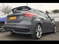 Ford Focus ST Diesel Milltek DPF Back Exhaust Sound