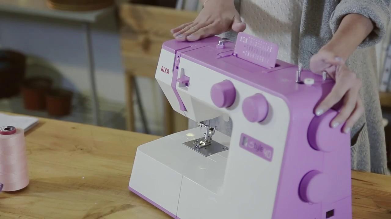 "ALFA STYLE 40 por ""Mi primera máquina de coser"" - YouTube"