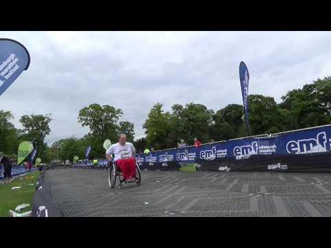 Dan McIntyre Completes the Edinburgh Marathon 2013