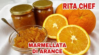Marmellata Di Arance Bio Fatta In Casa Di Rita Chef.