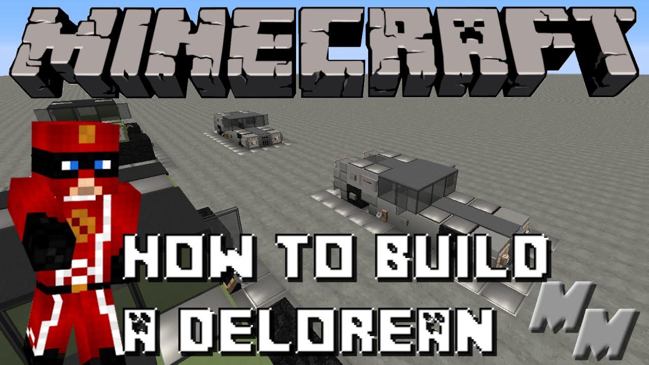 how to make a delorean time machine