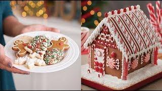 Amazing Christmas Cake Decorating Ideas Compilation - How to make Christmas Cake 2017