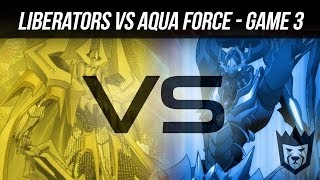 Gold Paladin Liberators vs Aqua Force Revonn 1-12-14 (Game 3) - Cardfight!! Vanguard