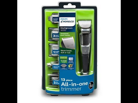Philips Norelco Beard/hair trimmer review