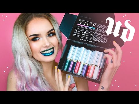 URBAN DECAY VICE SPECIAL EFFECTS LIP TOPCOAT SWATCHES! | atleeeey
